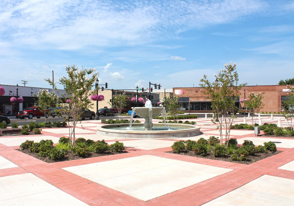 Landscape Architecture - Conway Rogers Plaza